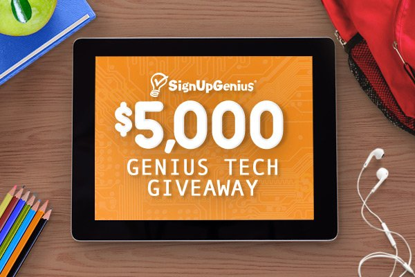 $5,000 Back-to-School Genius Tech Giveaway