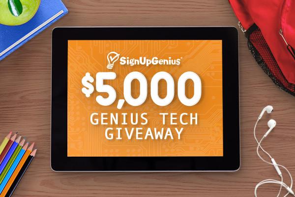 $5,000 Back-to-School Genius Tech Giveaway