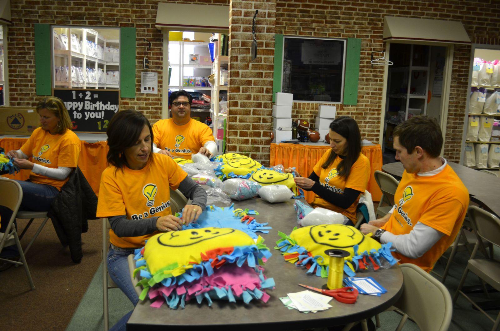 Bright Blessings volunteering