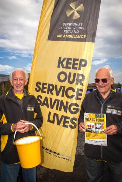 air ambulance volunteers