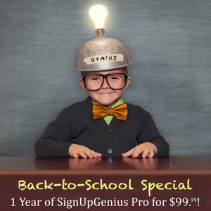 special offer signupgenius