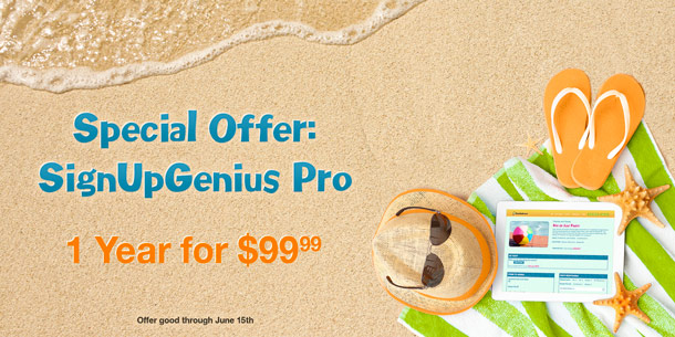 special promotional offer