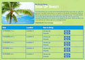 luau tropical party sign up sheet