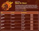 Basketball III sign up sheet