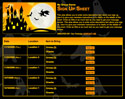 Haunted House sign up sheet