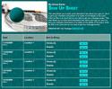 Racquetball sign up sheet