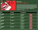 Holiday Dinner sign up sheet