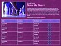 Ballet II sign up sheet