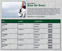 Football 5 sign up sheet