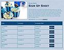 Hanukkah 5 sign up sheet