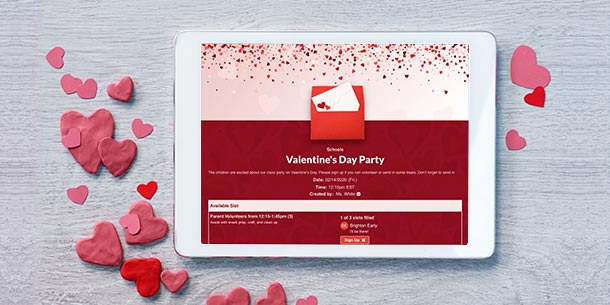 plan the perfect valentine's day event, Ideas