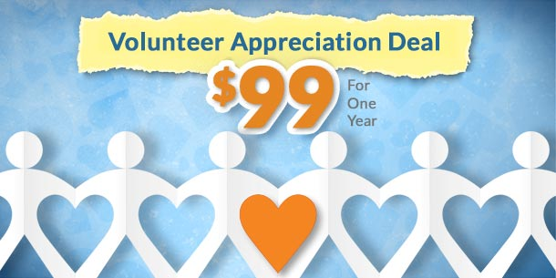 new theme giveaways premium subscription deal coupon volunteer appreciation