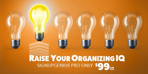 SignUpGenius online sign ups forms sheets deal coupon discount rate