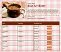 Soup sign up sheet