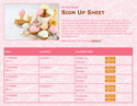 Ice Cream 2 sign up sheet