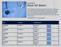 Scrubs sign up sheet