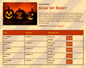 Trick or Treat 2 sign up sheet