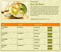 Matzo Ball Soup sign up sheet
