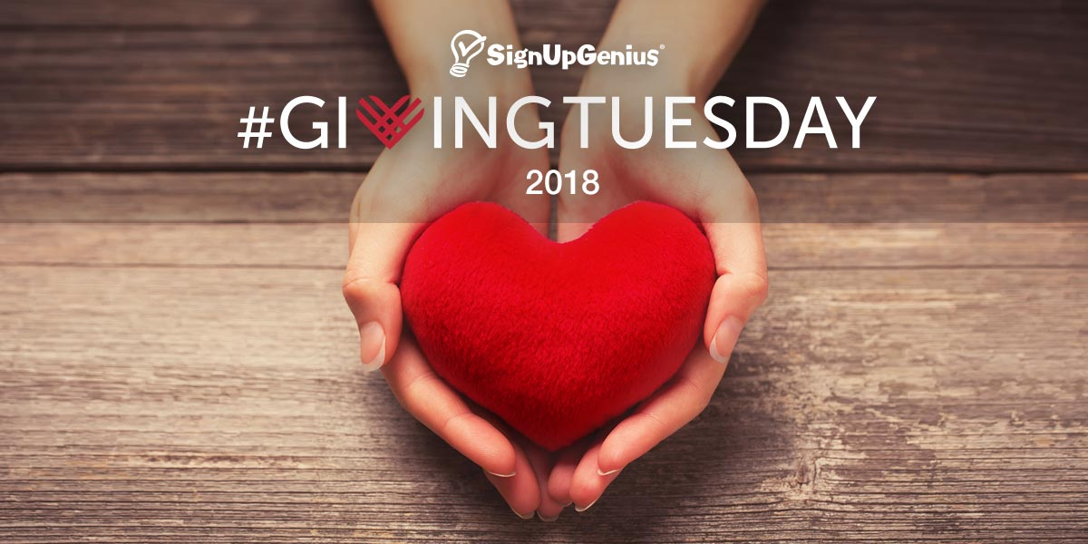 giving tuesday givingtuesday 2018 give donate volunteering fundraising campaigns nonprofits