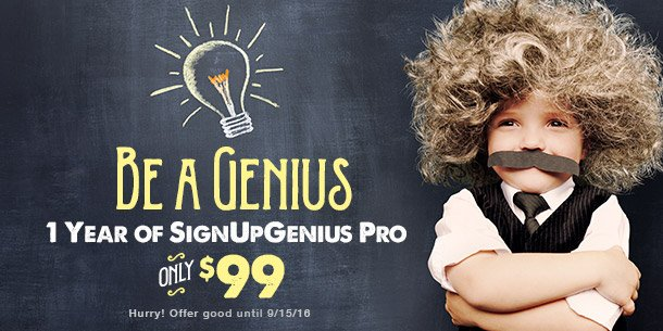 SignUpGenius Pro, deal, discount, offer, coupon, organizing, online tool, sign up site