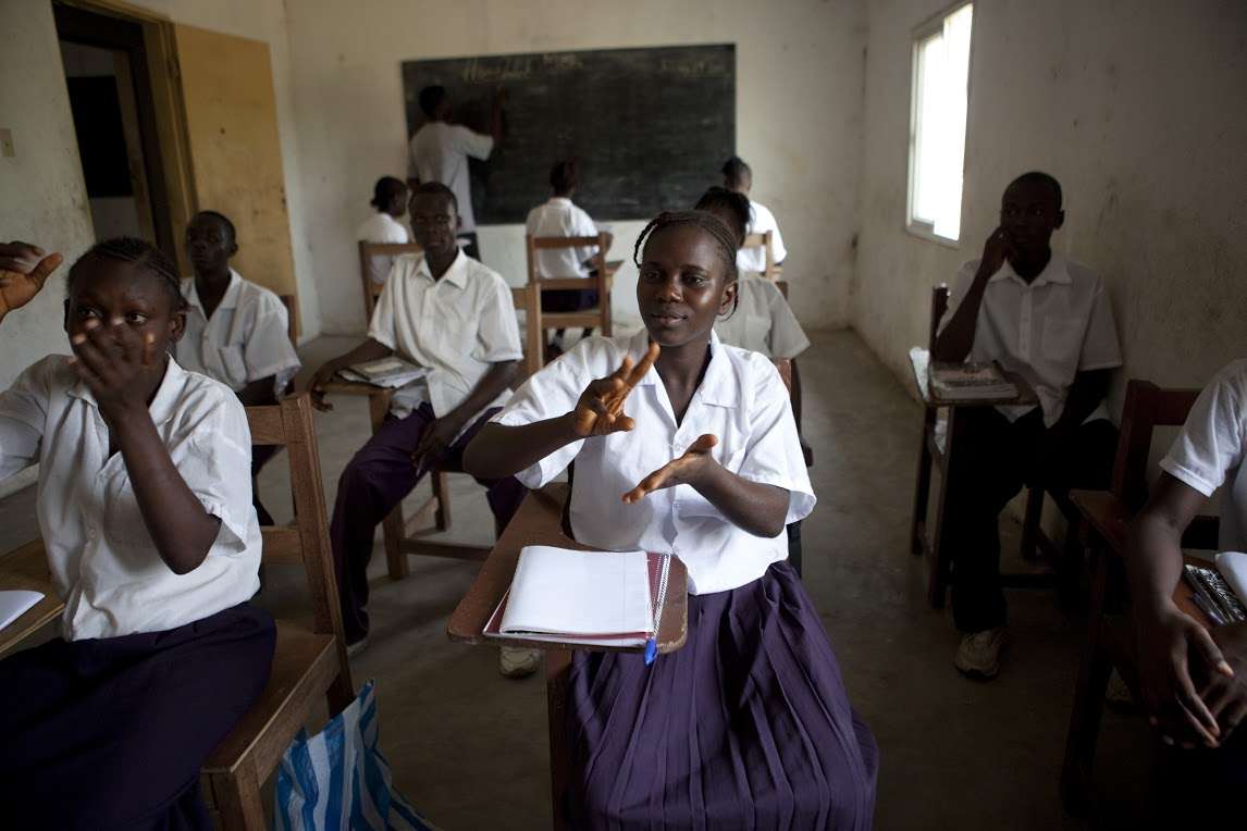 Oscar and Viola Stewart School for the Deaf AfricanChildSponsorship.com Christian Adoption Services ACFI