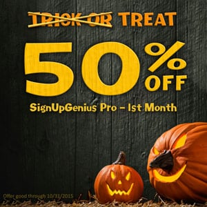 special offer halloween