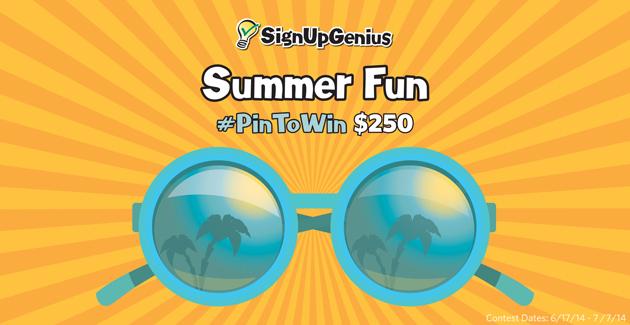 summer contest promo