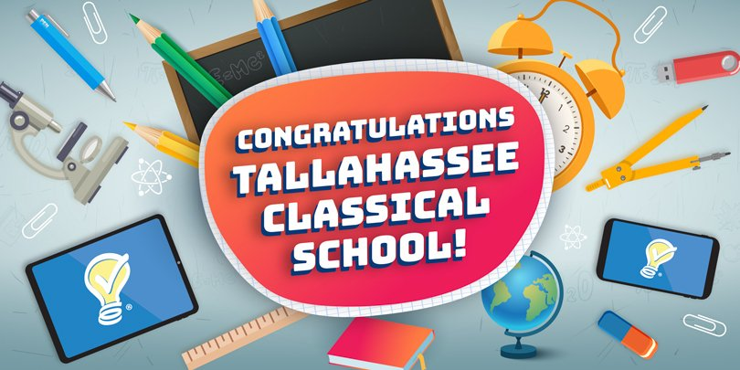 congratulations to Tallahassee classical school