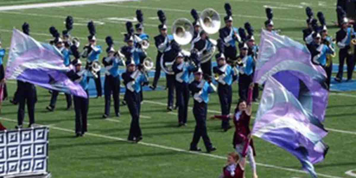 high school band music boosters volunteer organizing online sign ups
