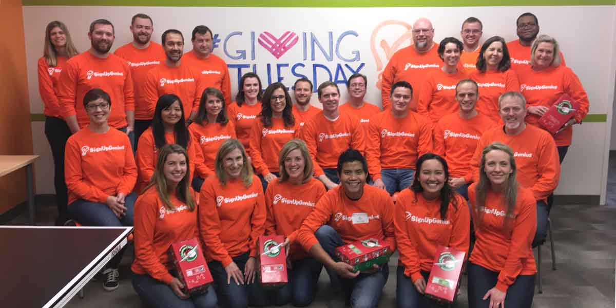 giving tuesday service projects signupgenius company news