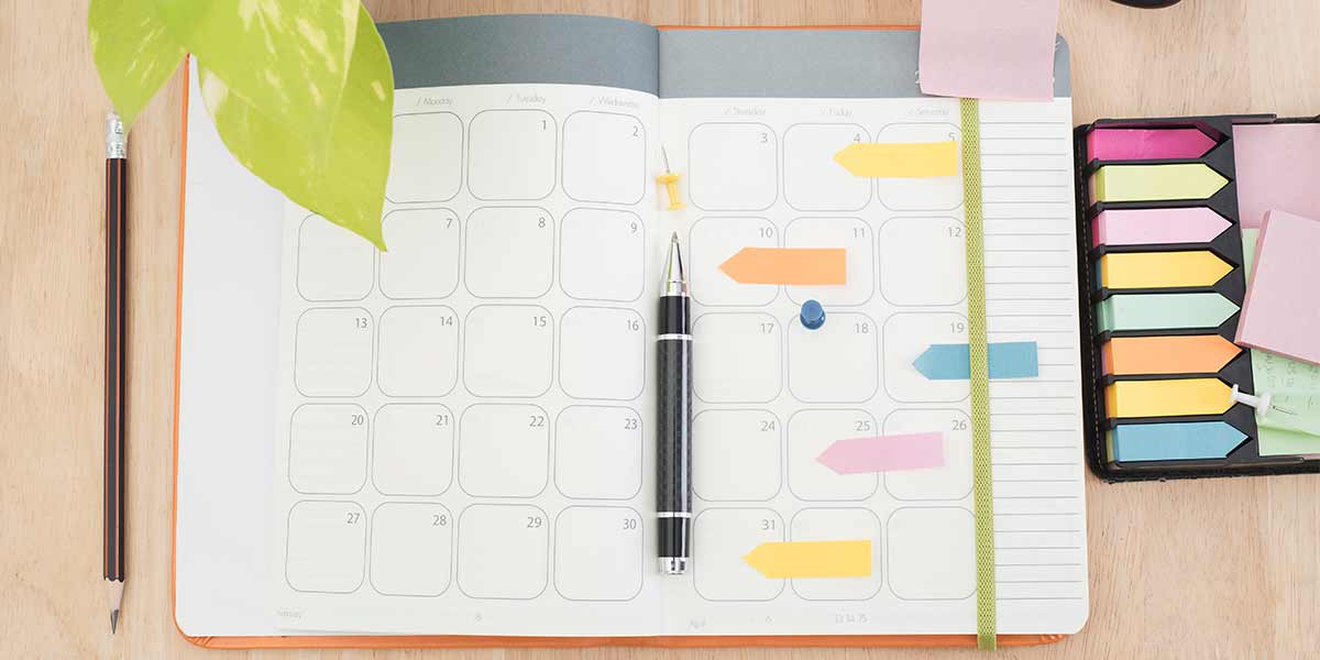 organizing goals resolutions 2018 ideas tips