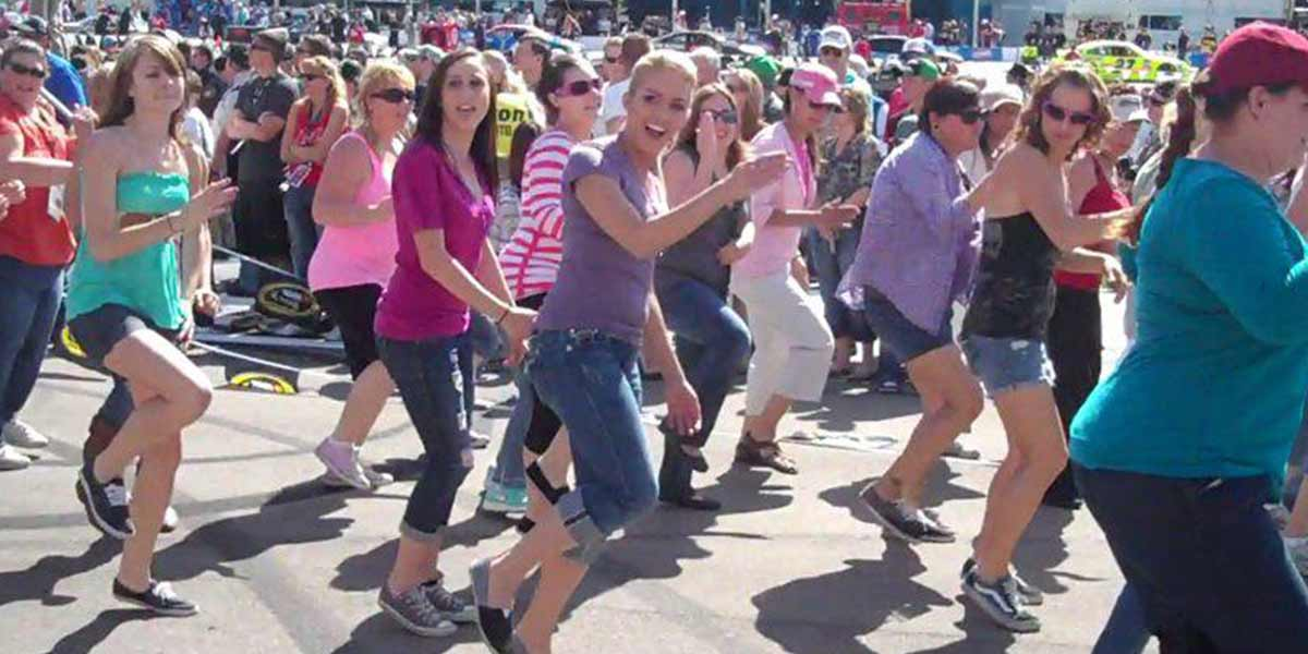flash mob las vegas