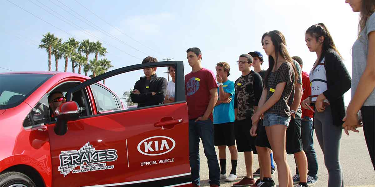 BRAKES teen safety driving classes
