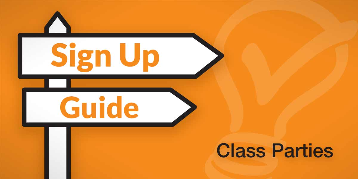 class party how to guide online volunteer sign ups