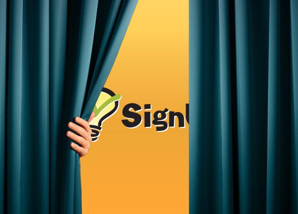 volunteer sign up sheet SignUpGenius site redesign