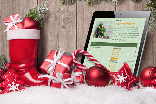 holiday giving gifts signupgenius planning online sign ups