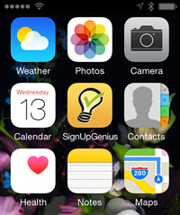 signupgenius mobile icon