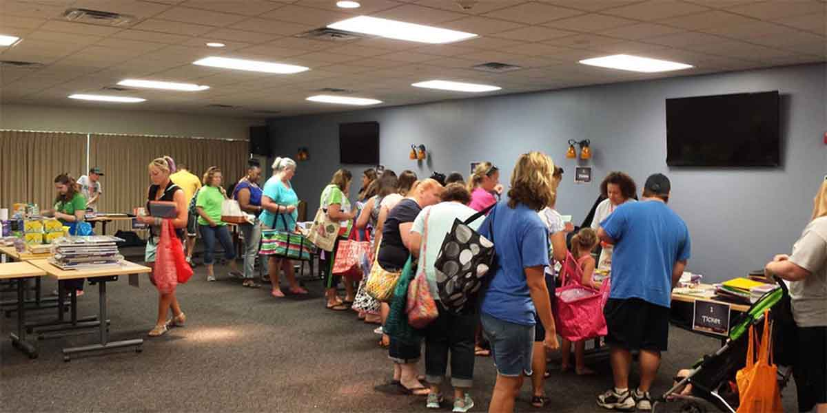 Kansas City Church Powers School Supply Donations with SignUpGenius