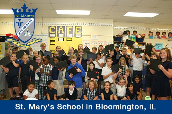 St. Mary's School, Illinois, contest winner, technology