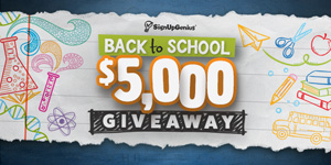 back to school giveaway contest