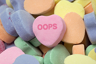 oops candy heart