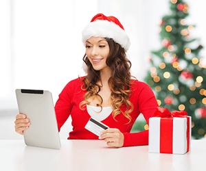 santa girl online payments
