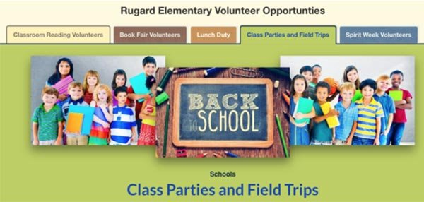 rugard elementary tabbed sign ups