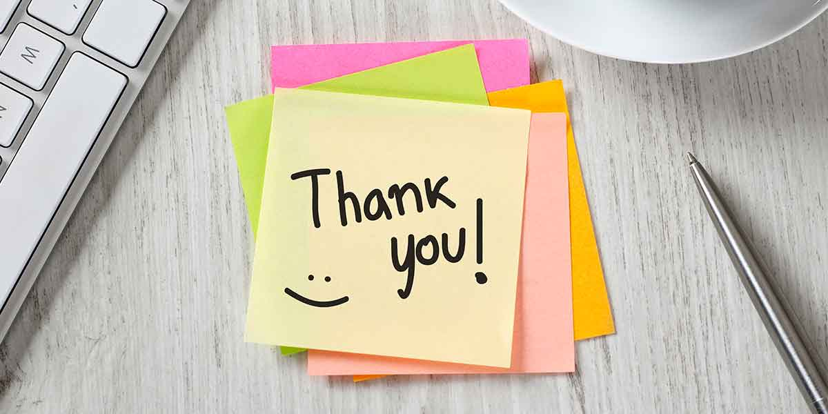 show appreciation for volunteers and teachers with these ideas
