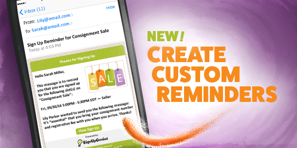 New Feature: Create Customized Notifications