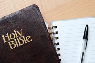 bible study notepad