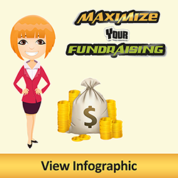Maximize Your Fundraising. Click to view Infographic