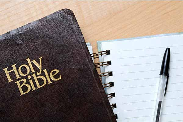bible study notepad
