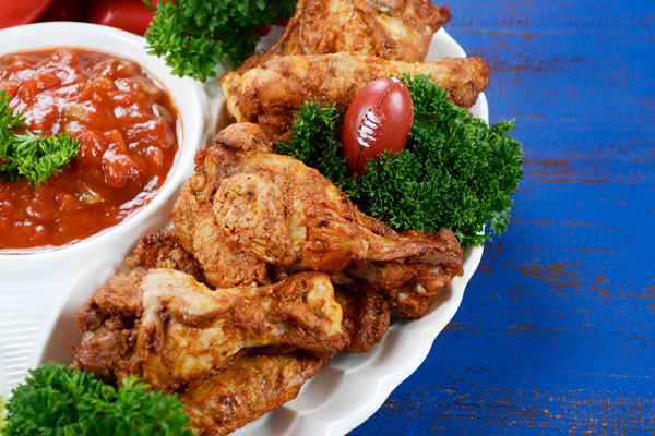 Super Bowl appetizers, football recipes, tailgating food ideas