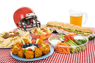 tailgate tips snacks football